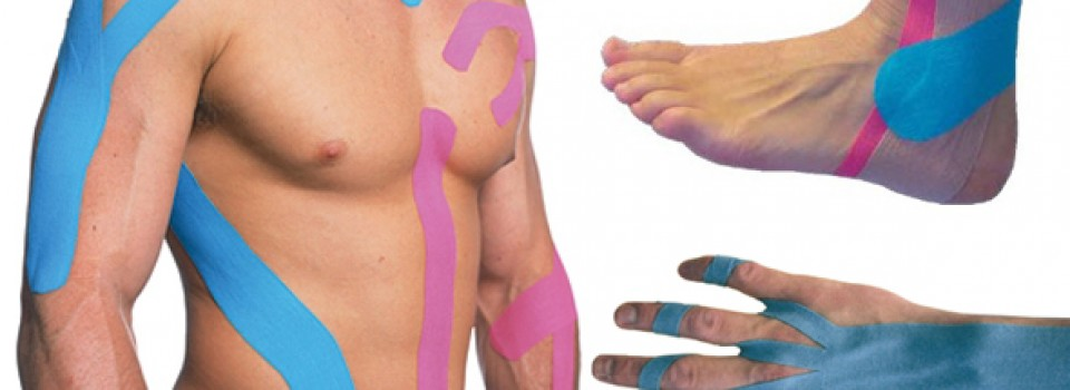 Pain therapy with KINESIO TAPE